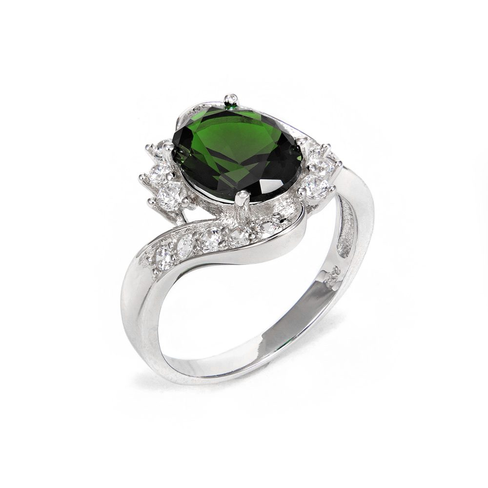 Δαχτυλίδι από ασήμι 925 με ζιργκόν  9598a7e0fb4