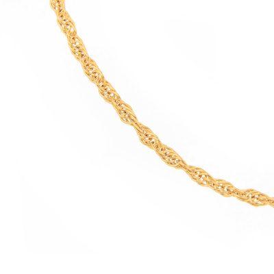 Χρυσό βραχιόλι αλυσίδα 14 καράτια